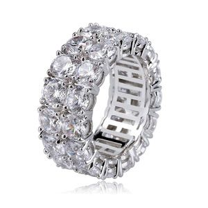 Jewelry - Iced Out Double Band Diamond Ring BRAND NEW